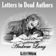 Letters to dead authors cover